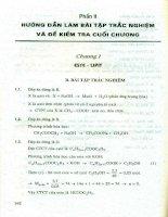 Kỹ năng làm đề thi và kiểm tra hóa học 12 phần 2
