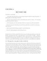 Lý thuyết và bài tập chương 4 Đo nhiệt độ