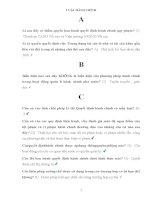 Ngân hàng câu hỏi và đáp án môn Luật hành chính LAW104 topica