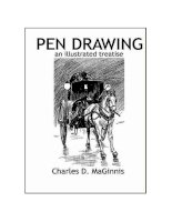 Cách vẽ bằng bút mực  Charles  maginnis pen drawing (an illustrated treatise)