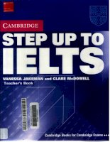 Cambridge STEP UP TO IELTS teachers book(2004)