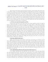 TÀI LIỆU THAM KHẢO   TƯỚNG LĨNH mỹ NHÌN NHẬN NHỮNG bài học THẤT bại TRONG CUỘC CHIẾN TRANH ở VIỆT NAM
