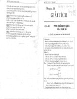Chuyên đề giải tích bài tập toán 12 học kỳ 1 thpt marie curie