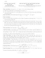 tuyển tập 23 đề thi thử môn toán thpt có đáp án chi tiết dễ hiểu.