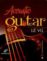 Acoustic guitar lê vũ
