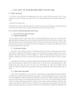 quản trị nhân lực: tuyển mộ, quy trình tuyển chọn