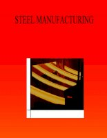 STEEL MANUFACTURING TECHNOLOGY