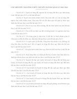 CÂU hỏi VIẾT THI CÔNG CHỨC CHUYÊN NGÀNH QUẢN lý đất ĐAI
