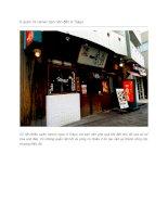 6 quán mì ramen bạn nên đến ở Tokyo
