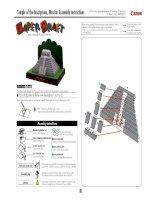 Mô hình Kim tự tháp mặt trời, Mexico  Hibun. P3