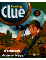 Reading clue 2 WB keys