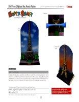 Mô hình tháp Eiffel, Pháp. P2