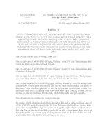 Thông tư 134/2015/TT-BTC hướng dẫn về miễn, giảm tiền sử dụng đất