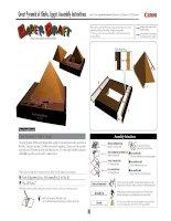 Mô hình Kim tự tháp Ai Cập