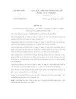 Thông tư 134/2016/TT-BTC Quy chế quản lý tài chính Mua bán nợ Việt Nam