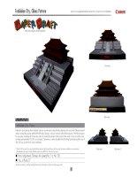 Mô hình Tử Cấm Thành, Trung Quốc. Forbidden city. P2