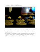 Giới thiệu 29 món ăn đường phố nhật bản