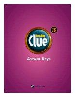 Reading clue 3 SB key