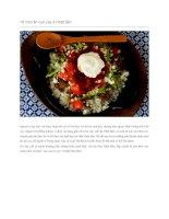 Giới thiệu 10 món ăn cực cay ở nhật bản