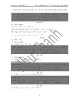 05 ỨNG DỤNG của VIET bậc 3 để GIẢI NHANH TIẾP TUYÊN