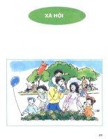 Sách giáo khoa tự nhiên và xã hội lớp 1 phần 2   NXB giáo dục việt nam