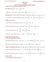 Bài giảng giải tích 1 bài 9