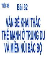 Bai 32 van de khai thac the manh o trung du va mien nui bac bo103