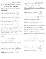 Đề thi giữa kì môn giải tích 3
