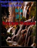 Bài giảng Toán 1 chương 4 bài 1: Phép cộng trong phạm vi 100 (cộng không nhớ)
