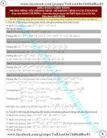 Phương pháp phân tích nhân tử và phương pháp sử dụng tính đơn điệu của hàm số giải pt hpt thầy đoàn trí dũng