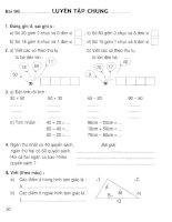 Vở bài tập toán lớp 1 (tập 2) phần 2   NXB giáo dục việt nam