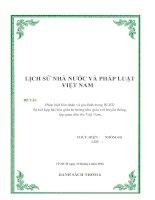 Chế định về hôn nhân gia đình trong Bộ Luật Hồng Đức