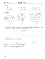 Vở bài tập toán lớp 2 (tập 1) phần 2   NXB giáo dục việt nam