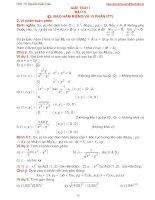 Bài giảng giải tích 1 bài 13