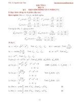 Bài giảng giải tích 1 bài 14