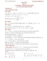 Bài giảng giải tích 1 bài 12