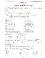 Bài giảng giải tích 1 bài 8
