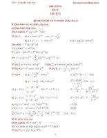 Bài giảng giải tích 1 bài 4