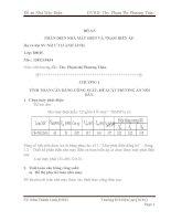 ĐỒ án phần điện trong nhà máy điện và TBA Phạm THị Phương Thảo