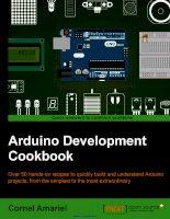 Arduino development cookbook