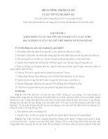 Nhận định và bài tập môn Luật Tố tụng dân sự