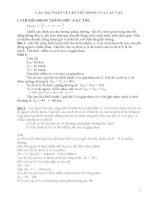 tuyển tập các bài toán phần nhiệt học BD HSG LY 9