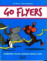 Go flyers cambridge young learners english tests