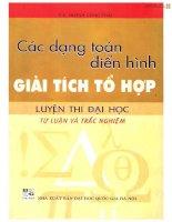 11 cac dang toan dien hinh giai tich to hop LTDH tu luan va trac nghiem (NXB dai hoc quoc gia )   huynh cong thai, 216 trang