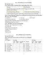 Bài tập sinh 6 theo SGK   sinh học 6   phan men