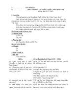 Giáo án lịch sử 9 kì 2   lịch sử 9   nguyễn thiên hương