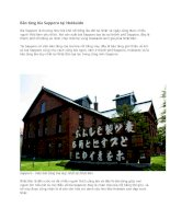 Du lịch nhật bản bảo tàng bia sapporo tại hokkaido