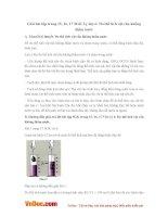 Giải bài tập trang 15, 16, 17 SGK Lý lớp 6: Đo thể tích vật rắn không thấm nước