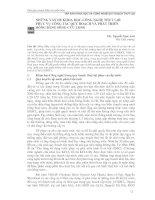 NHỮNG VẤN ĐỀ KHOA HỌC CÔNG NGHỆ THỦY LỢI PHỤC VỤ CÔNG TÁC QUY HOẠCH VÀ PHÁT TRIỂN ĐỒNG BẰNG SÔNG CỬU LONG