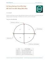 Sử dụng đường tròn hỗn hợp
